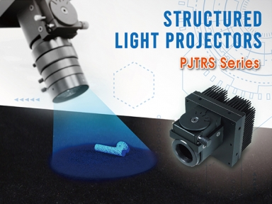 Introducing NEW PJTRS Series – High Power Structured Light Projector with All NEW high-precision rotary stage