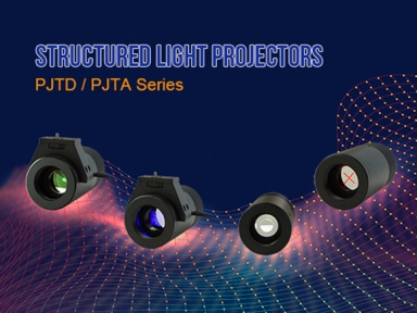 New Products Released ! Structured Light Projectors